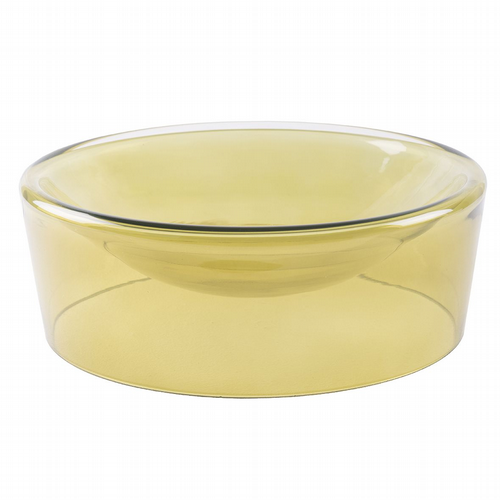 Glass Bowl - Grass Green